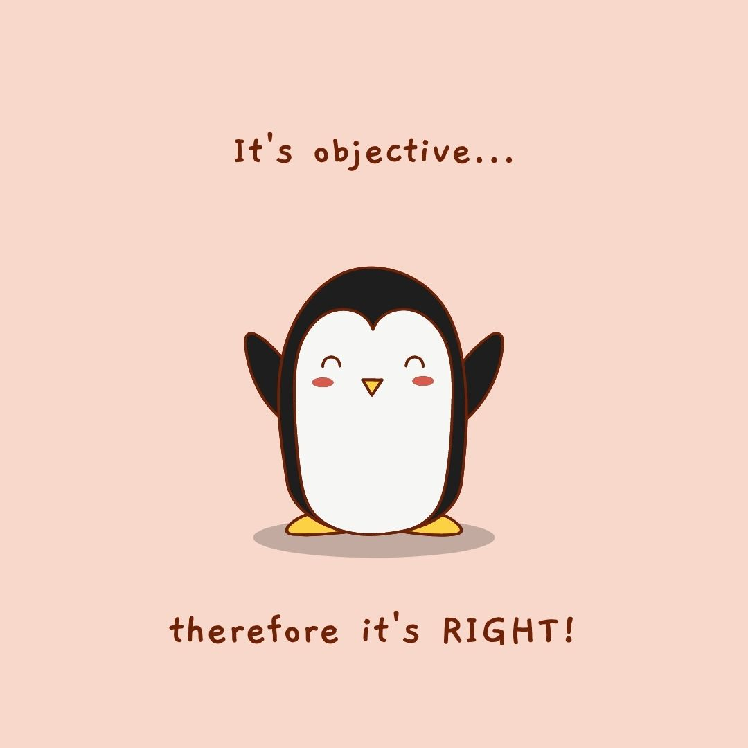 meme about objectivity