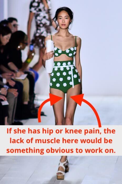 weak inner thighs example