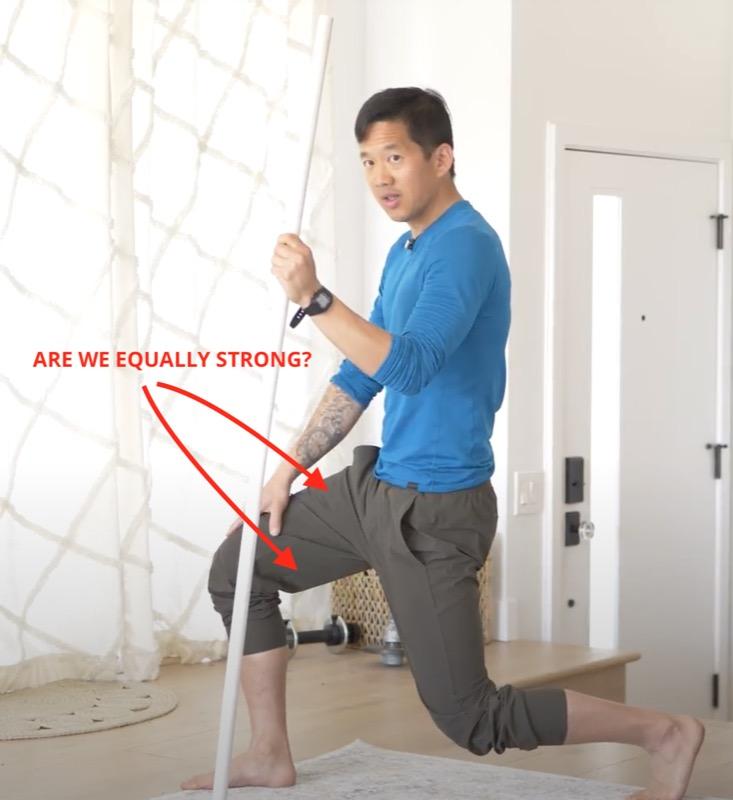 quads vs. hamstrings muscle balance