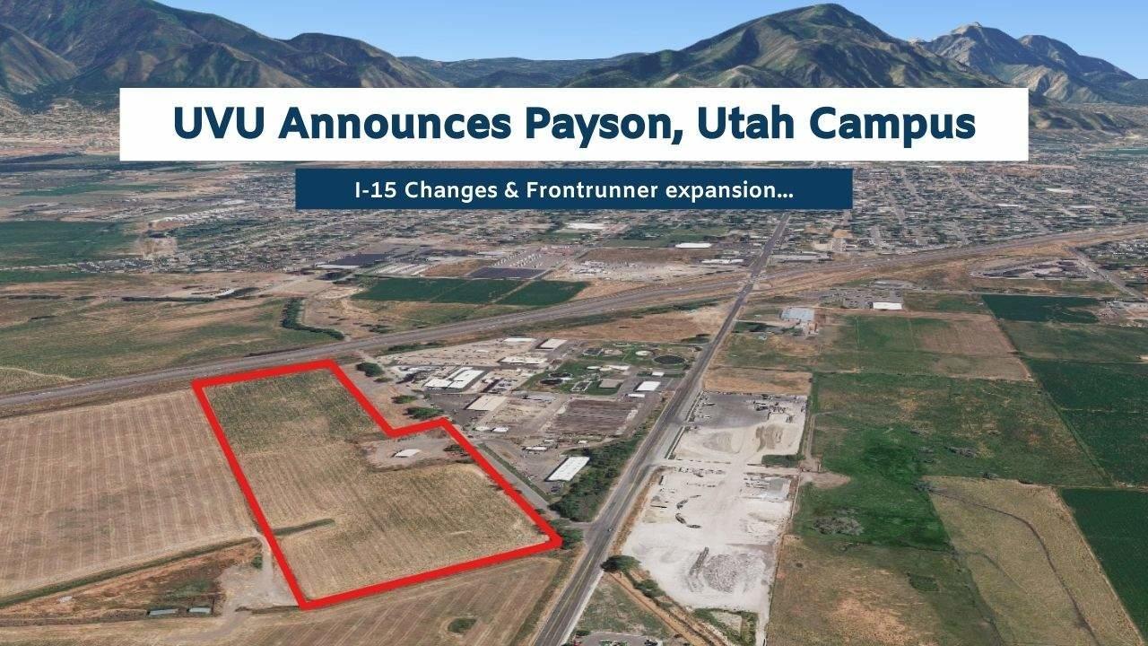 Map of Payson, Utah