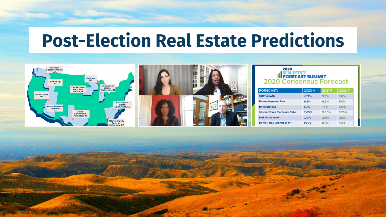 Boise, Idaho Real Estate predictions