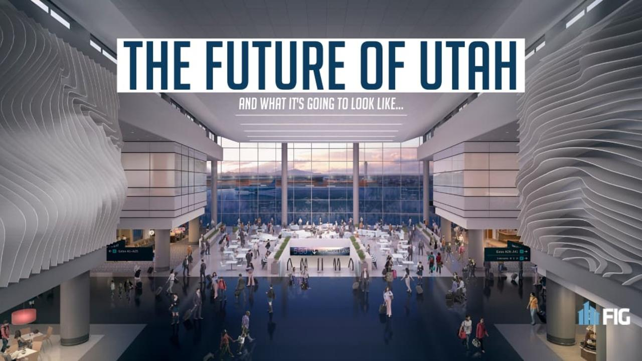 Rendering of the New Salt Lake City Airport