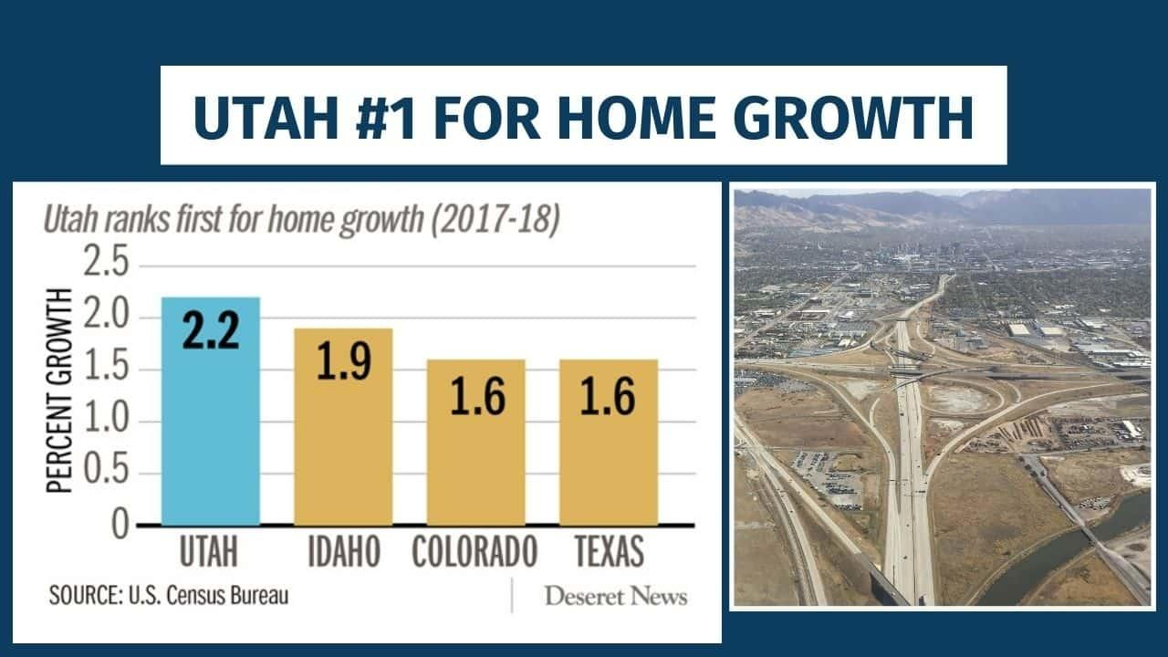 Utah home growth