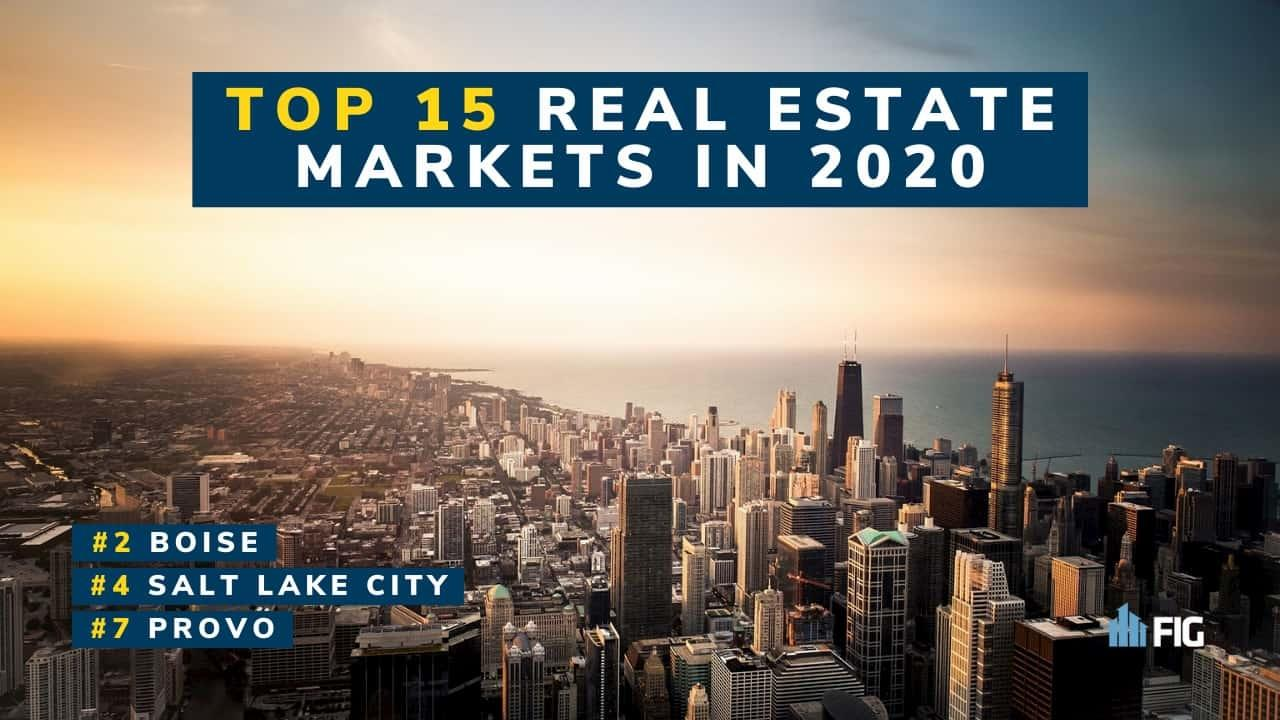 List of top Real Estate Markets to Invest In