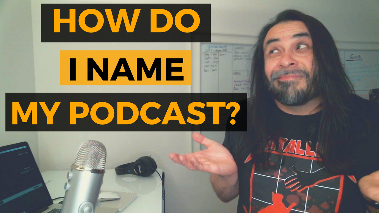 These tips will help you come up with a podcast name if you