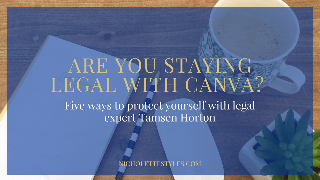 Are You Staying Legal With Canva