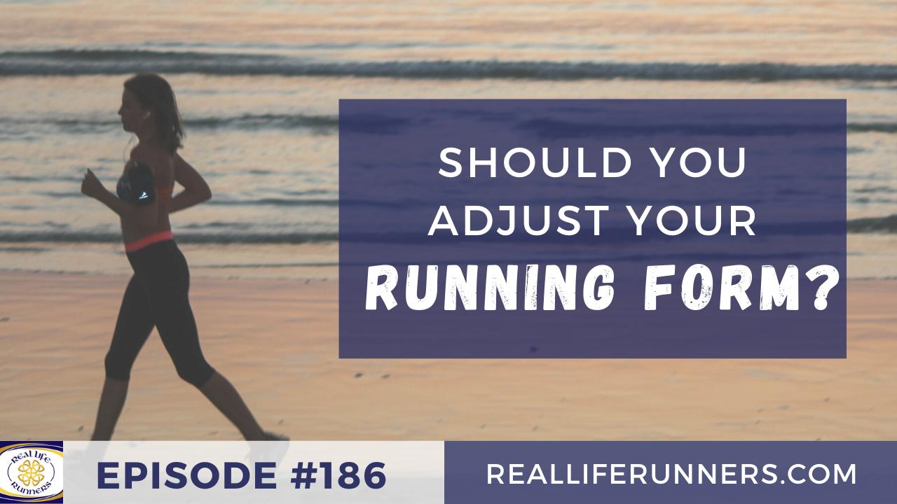 Should you adjust your running form?