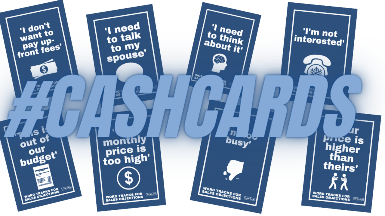 Buy Cashcards: Flashcards for Closers