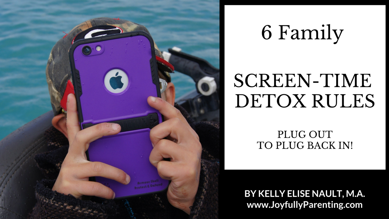 6 Family Screen-time Detox Rules: Plug out Some, To Plug Back in