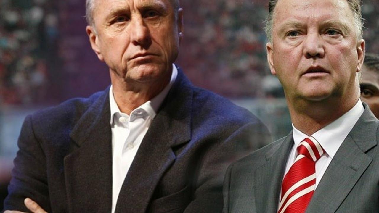 Johand Cruyff and van Gaal. Blog by Mary Kok-Willemsen
