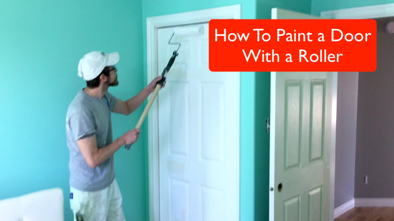 Many People Wonder How You Could Use A Roller To Paint A Colonial Door. The  Concern Being The Grooves In The Door And The Kind Of Finish A Roller Would  ...