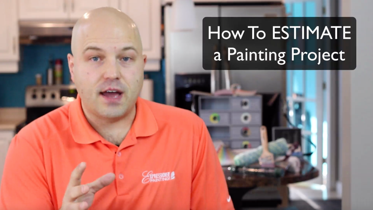 How to ESTIMATE a Painting Project