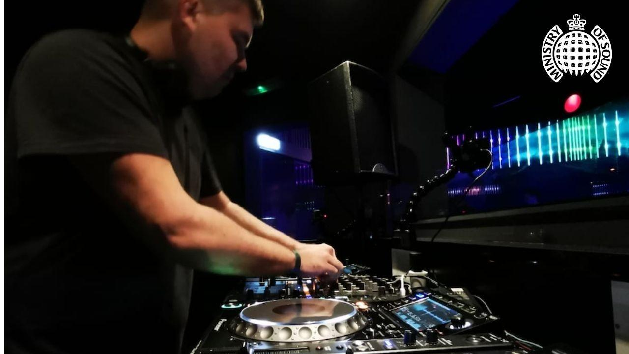 Ondray plays in Ministry of Sound, London