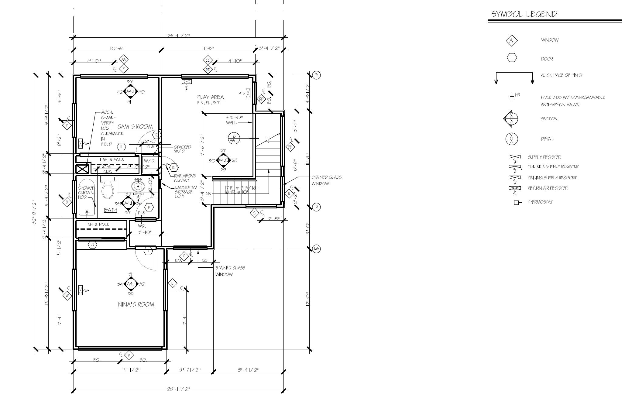 Complete Guide to Blueprint Symbols: Floor Plan Symbols & More  9
