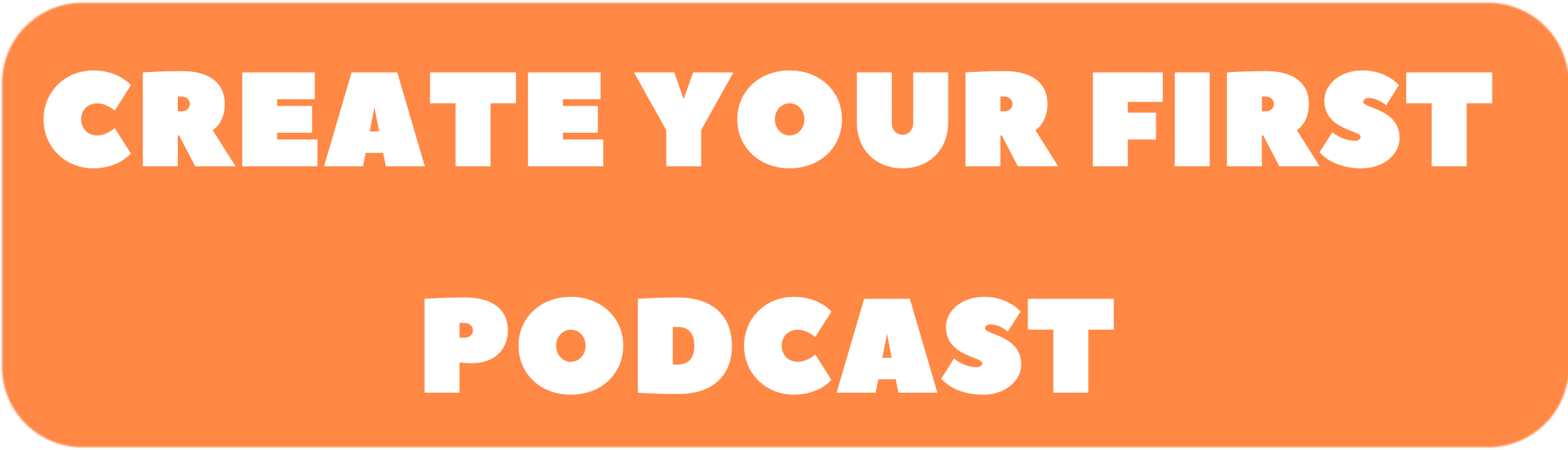 Create Your First Podcast
