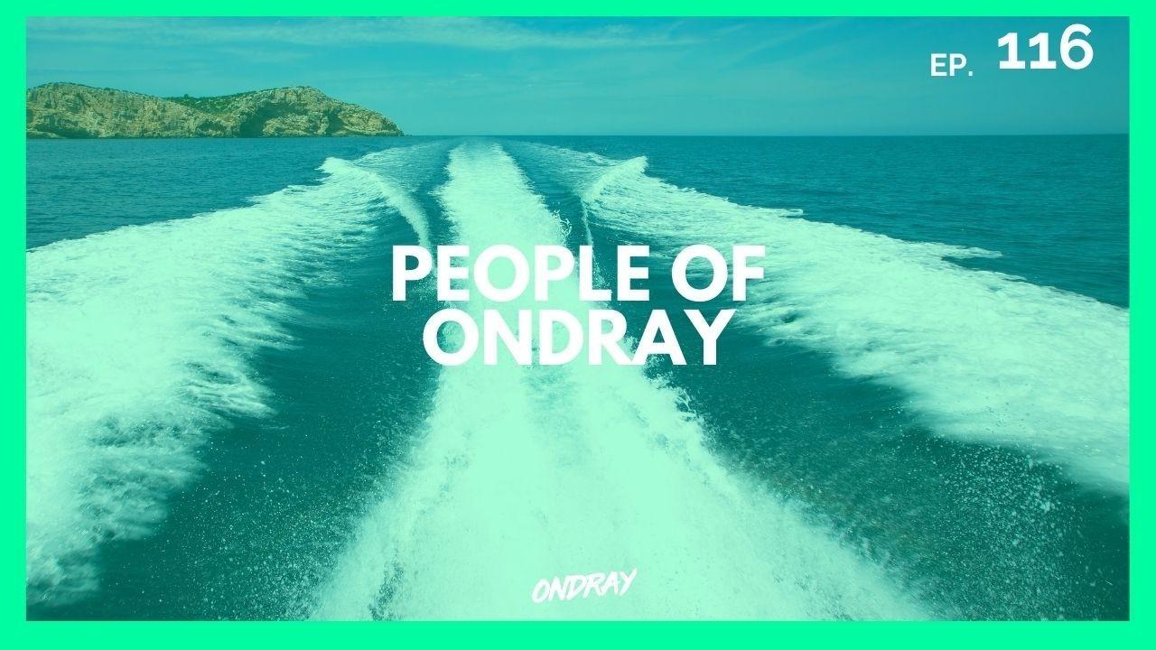 Ondra Vodný vydává podcast People Of Ondray