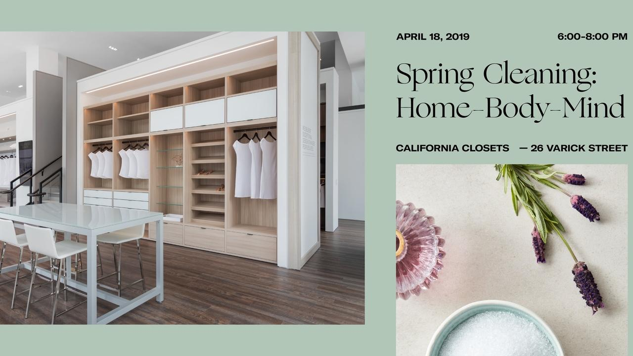 Nyc Spring Clean Your Home Body And Mind