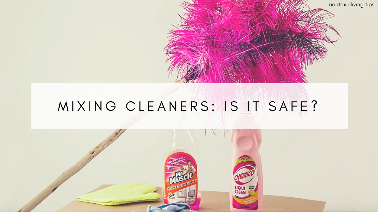 Is Mixing Household Chemicals And Cleaning Products Dangerous Nonto Mix Your Cocktail Using A Keyboard It Safe