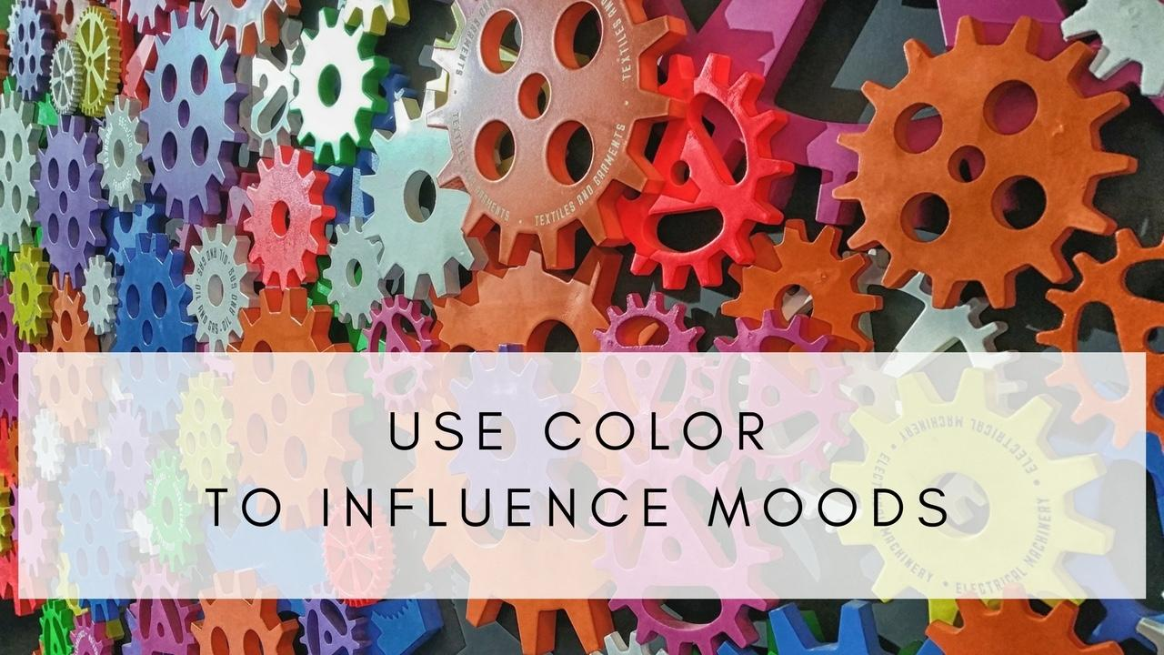 Colors in your home can influence moods