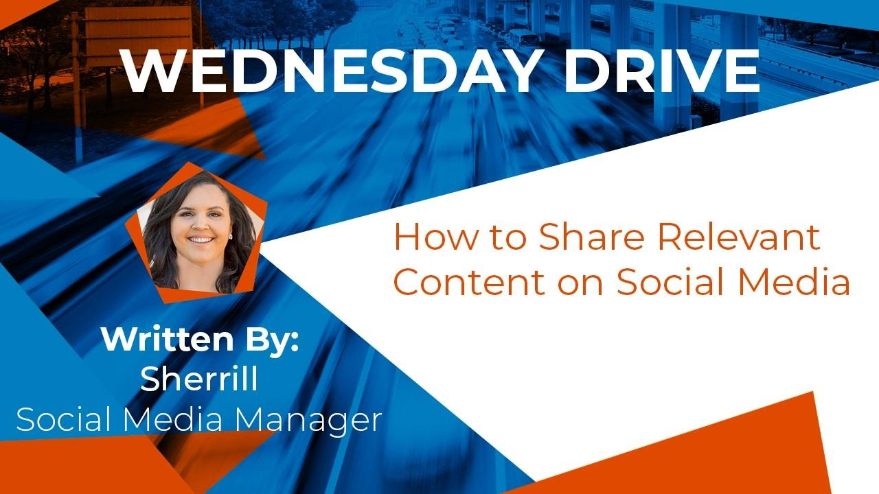 How to Share Relevant Content on Social Media