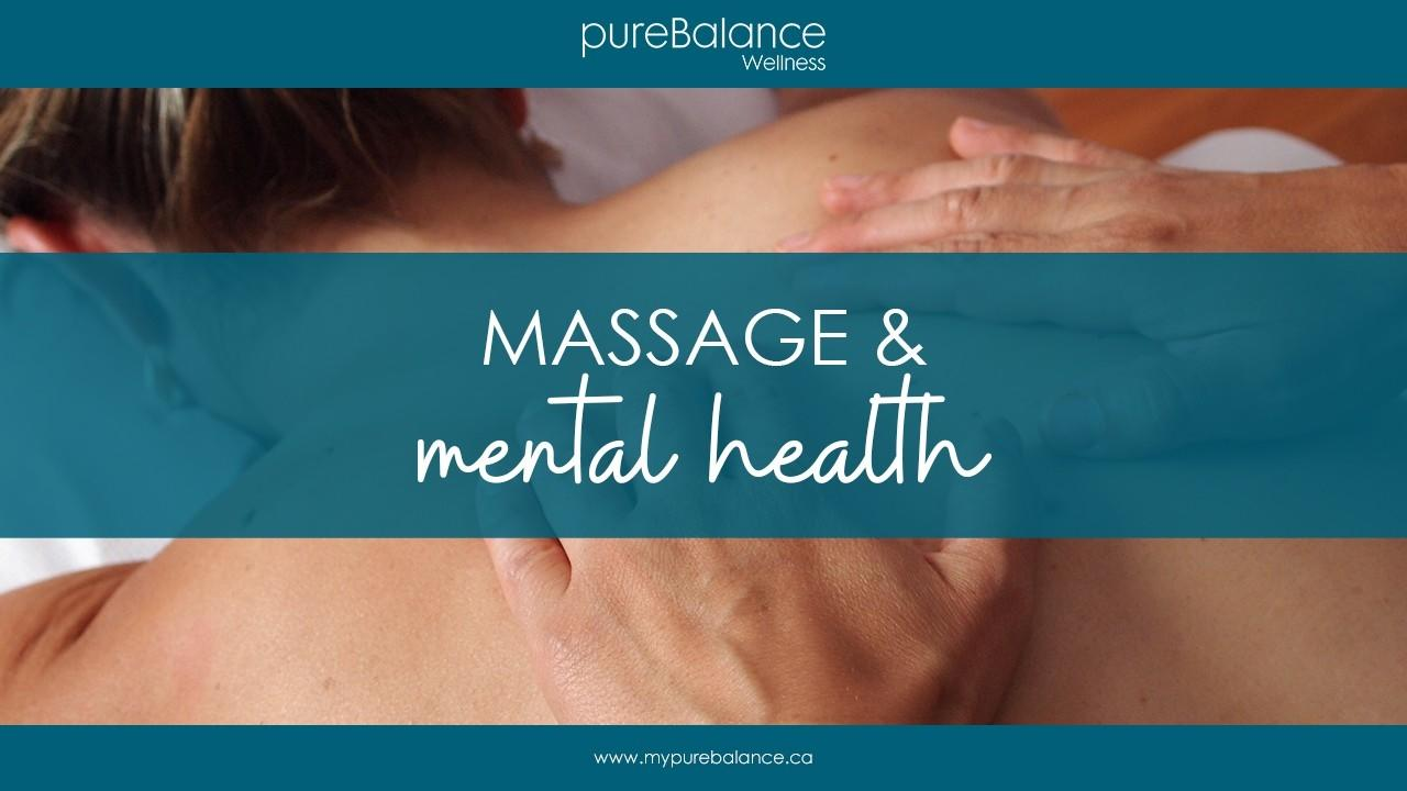 woman getting a massage - Massage & Mental Health