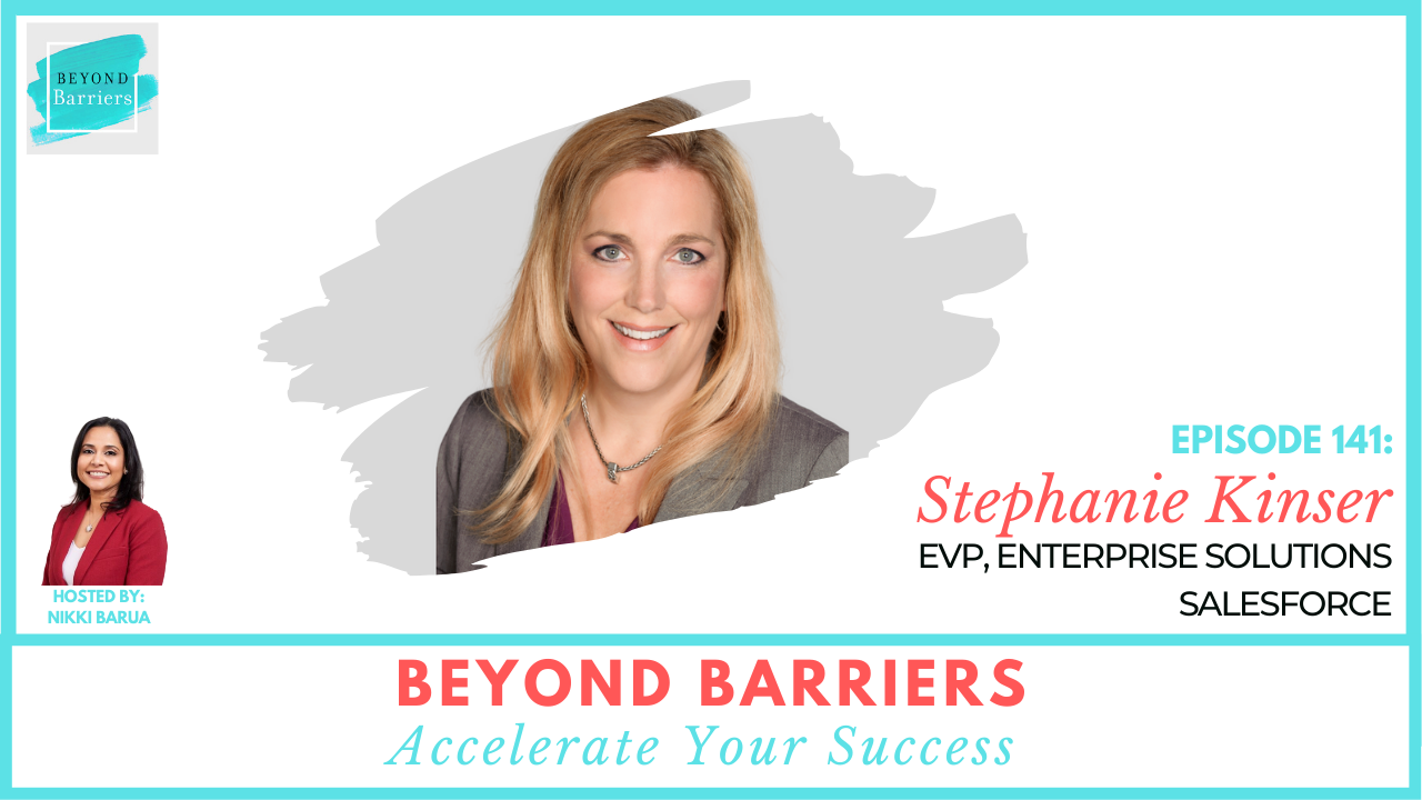 Cultivating The Next Generation Of Leaders With Salesforce's Stephanie Kinser