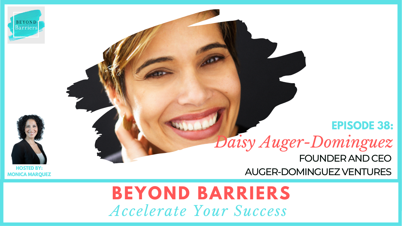 Stand Up, Stand Out and Get Ahead with Daisy Auger-Dominguez
