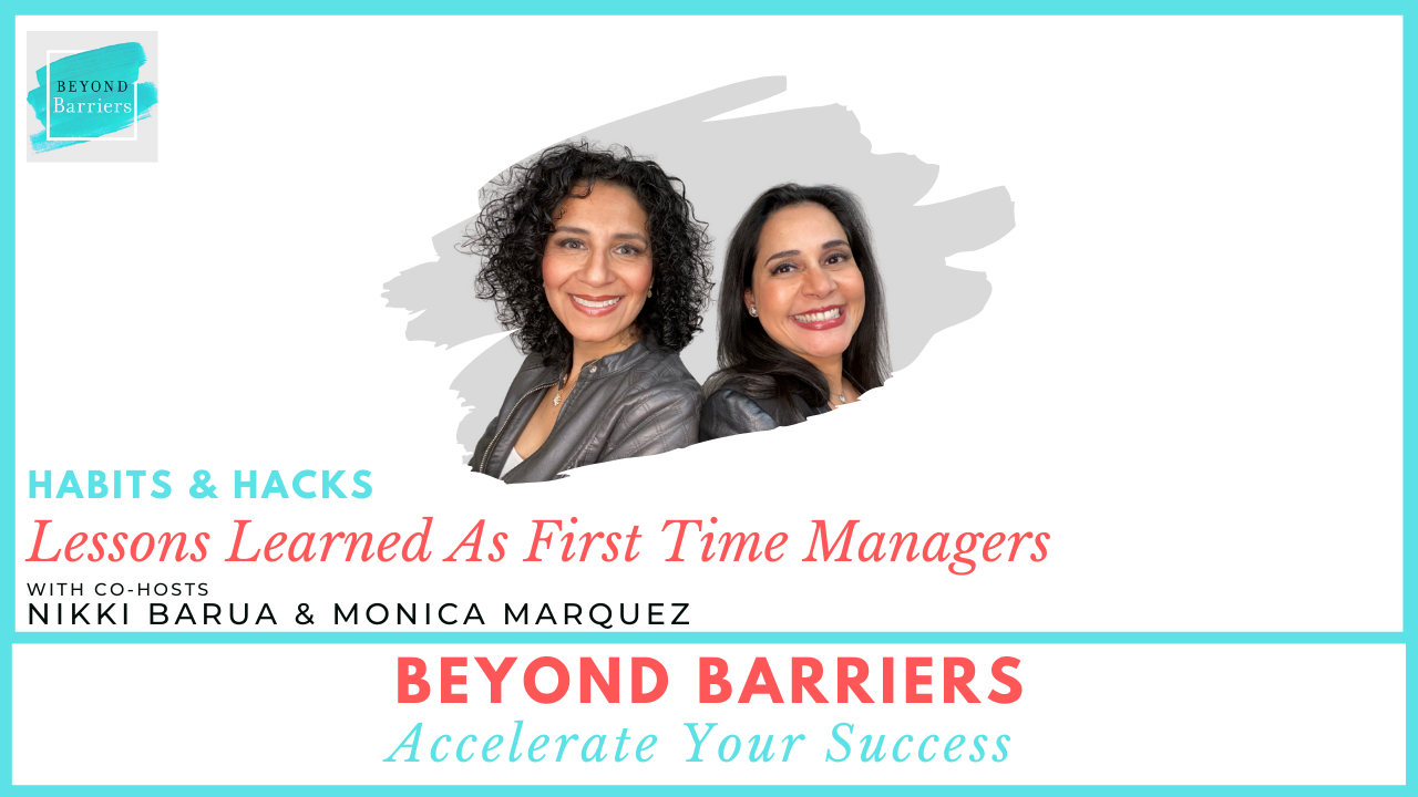 Lessons Learned As First Time Managers