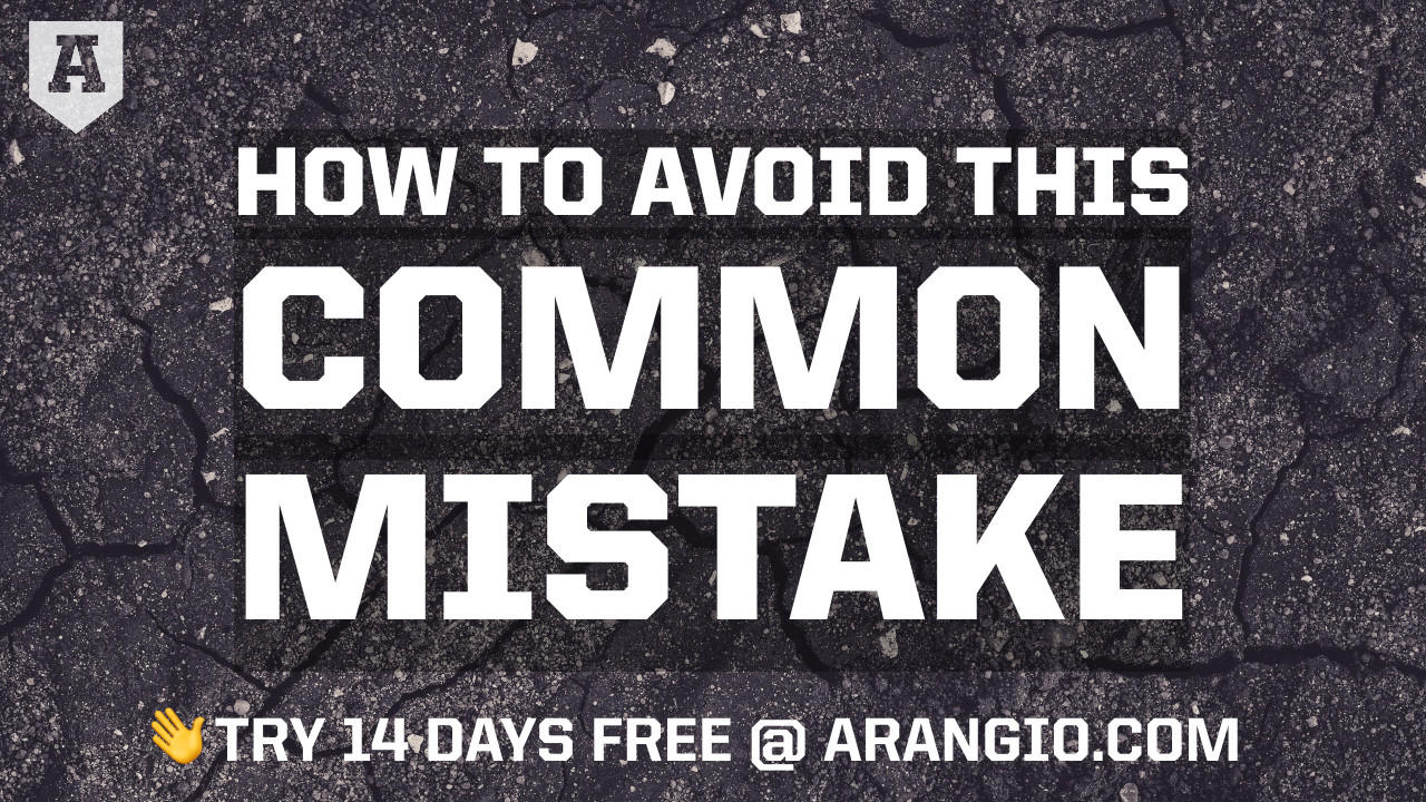Avoid this Common Mistake
