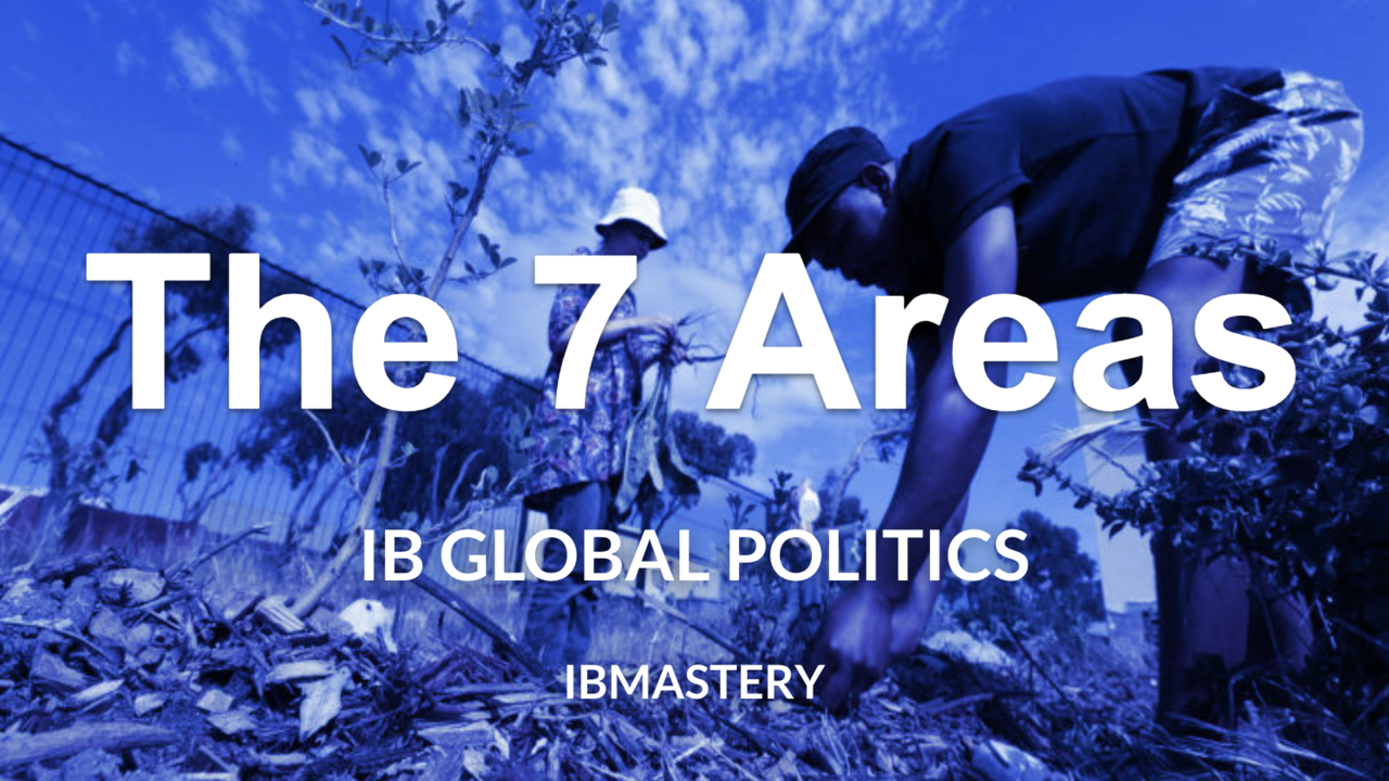 The 7 Areas of Global Politics