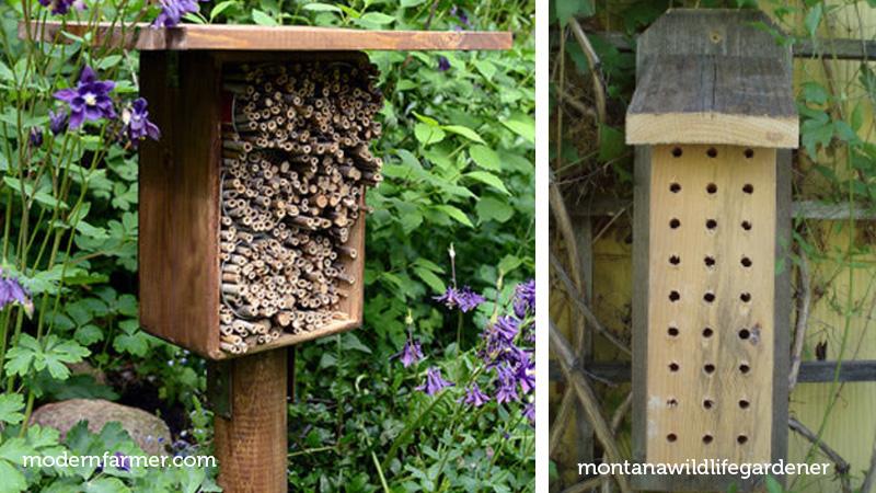 mason bee hotels easy to make