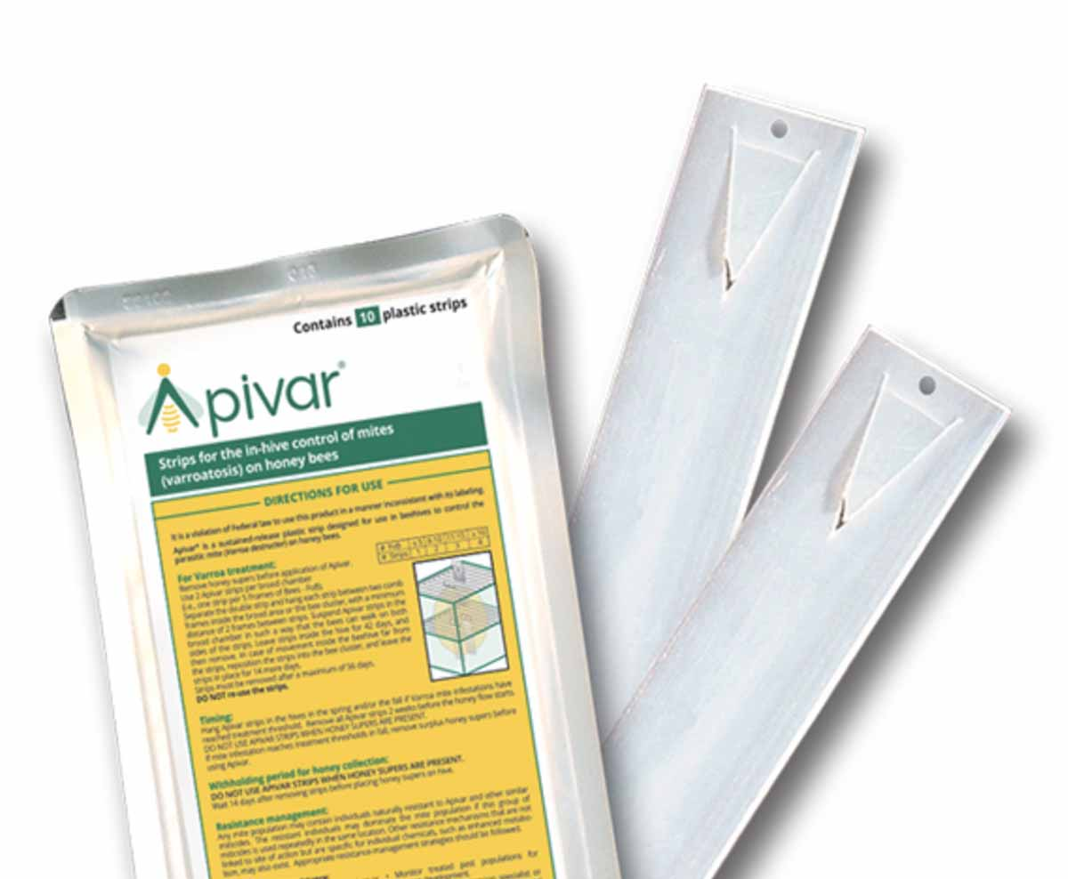 apivar strip and package