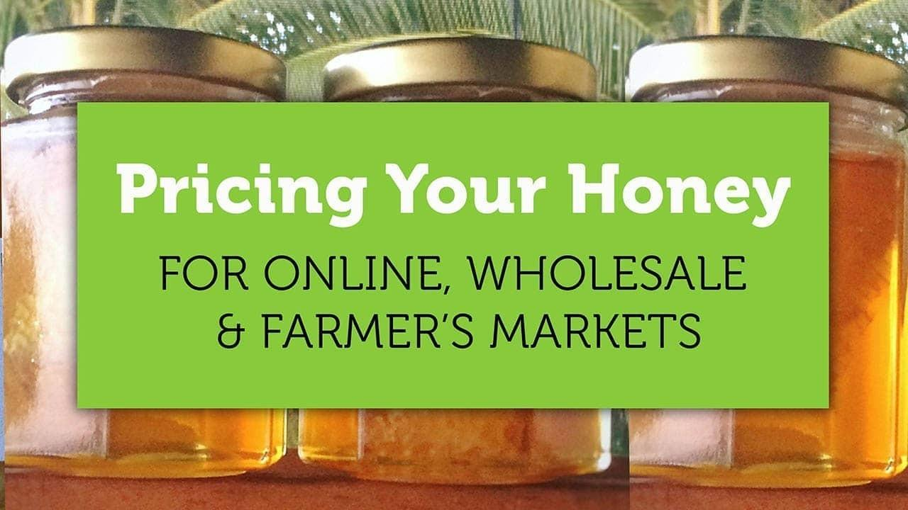 pricing your honey blog title image