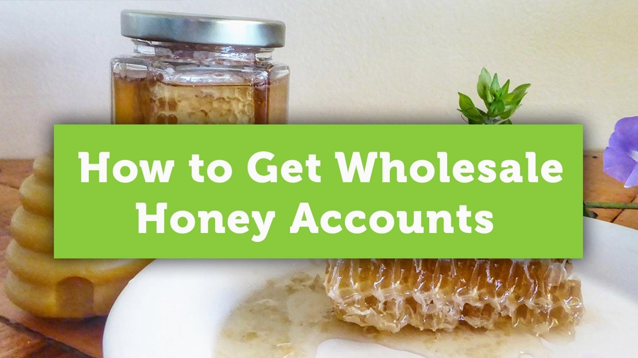how to sell honey wholesale