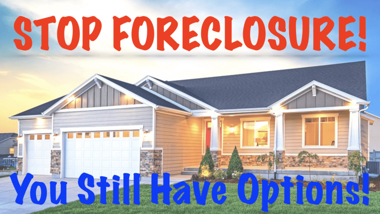 Stop forclosures