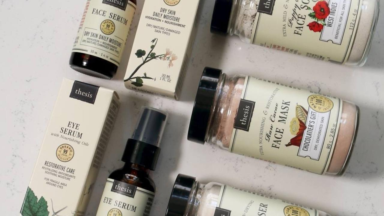 a variety of thesis beauty products