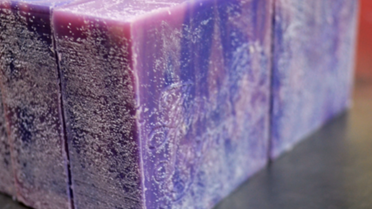 Soap with Soda Ash