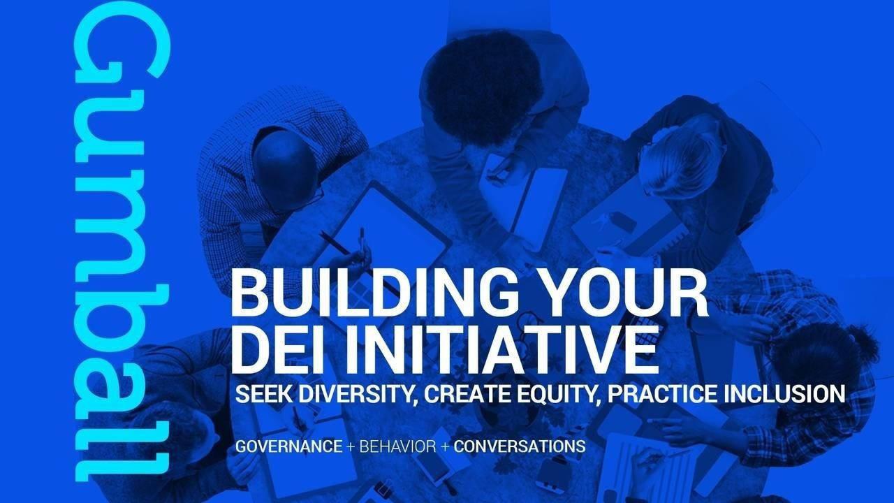 DEI Inititiative Round Table Blue