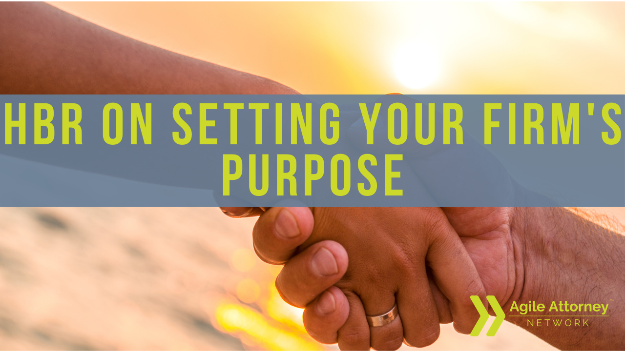 Set Your Firm's Purpose