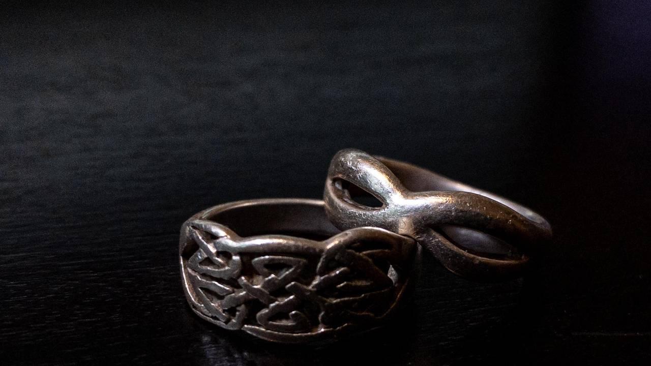 A pair of rings