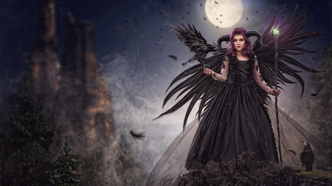 Creating a maleficent composite composite maleficent photoshop tutorial baditri Images