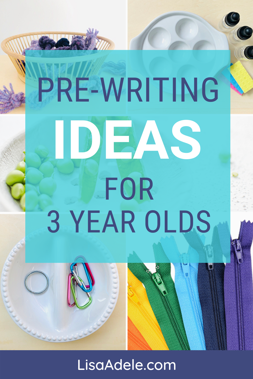 Pre-writing activities ideas for toddlers and preschoolers to get ready for writing letters