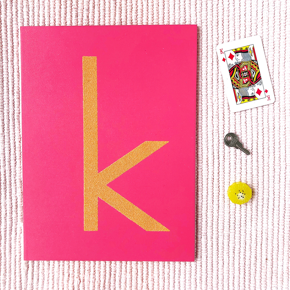 Montessori sandpaper letters with language objects for learning letter sounds