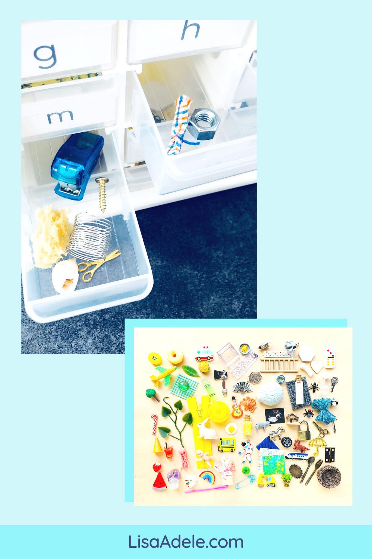 Montessori Language Objects Set