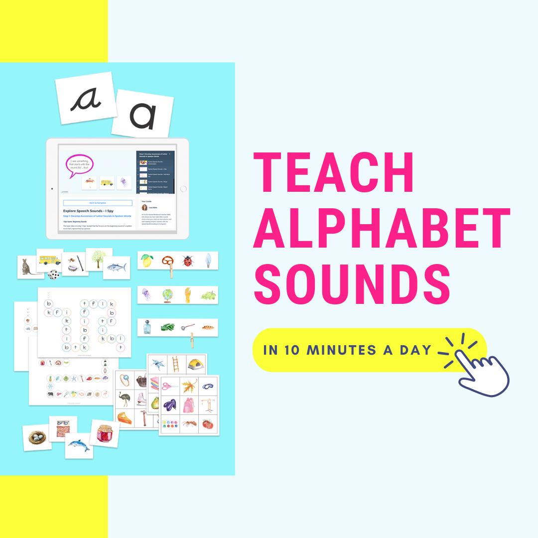 TEACHING LETTER SOUNDS TOOLKIT Lisa Adele Montessori Teacher