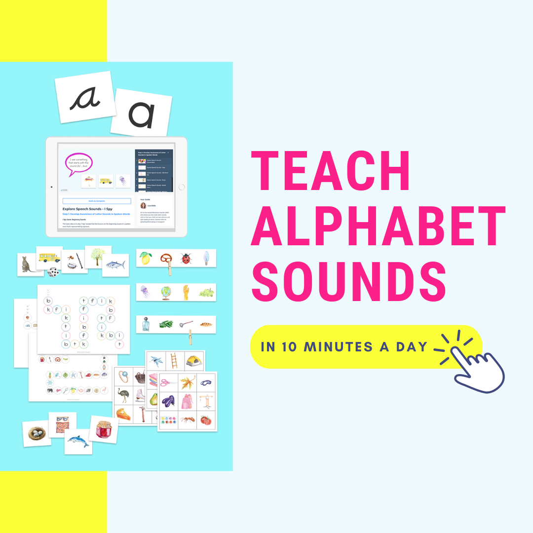 TEACHING LETTER SOUNDS TOOLKIT Lisa Adele Montessori Teacher