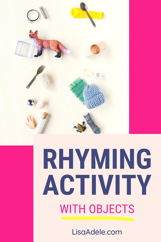 Montessori Language Objects Set Rhyming Words