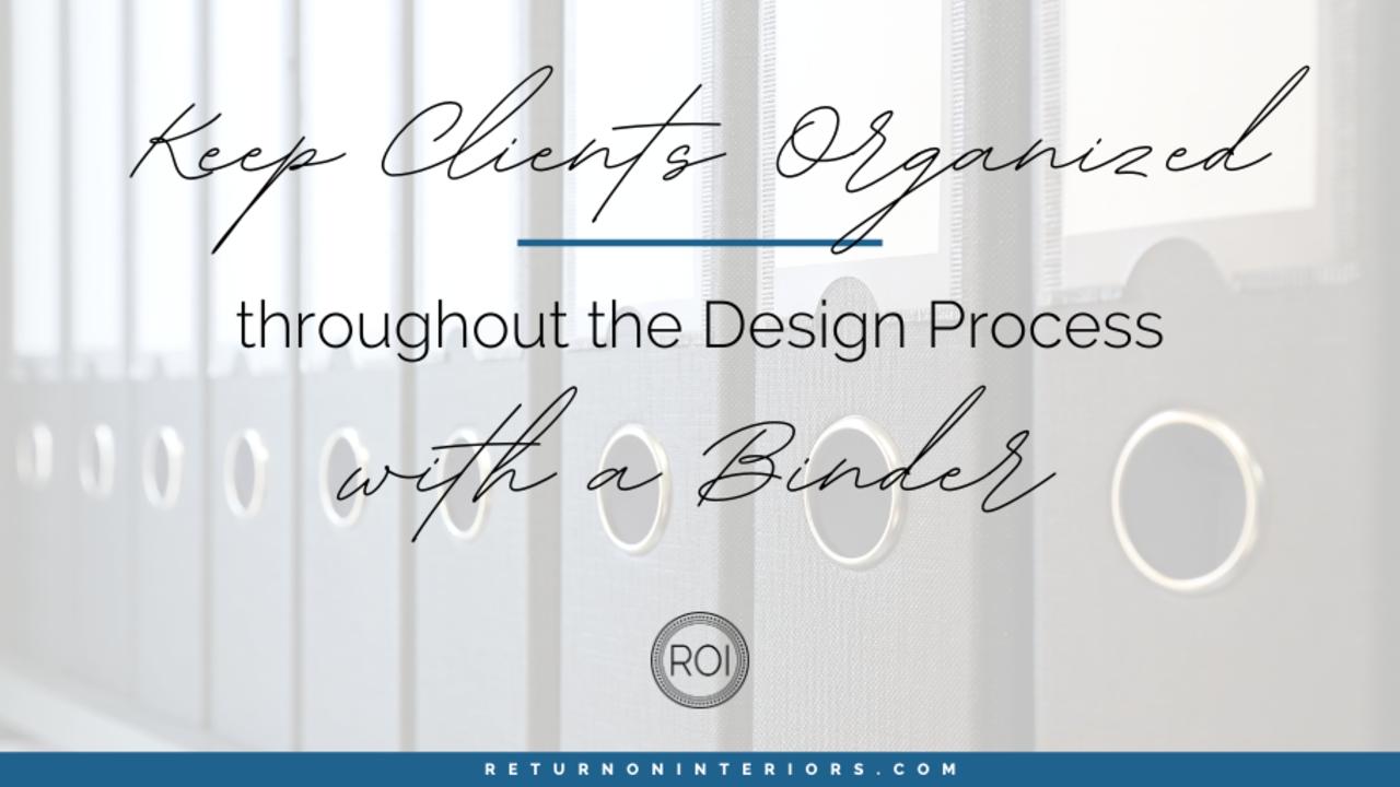 Organize your client