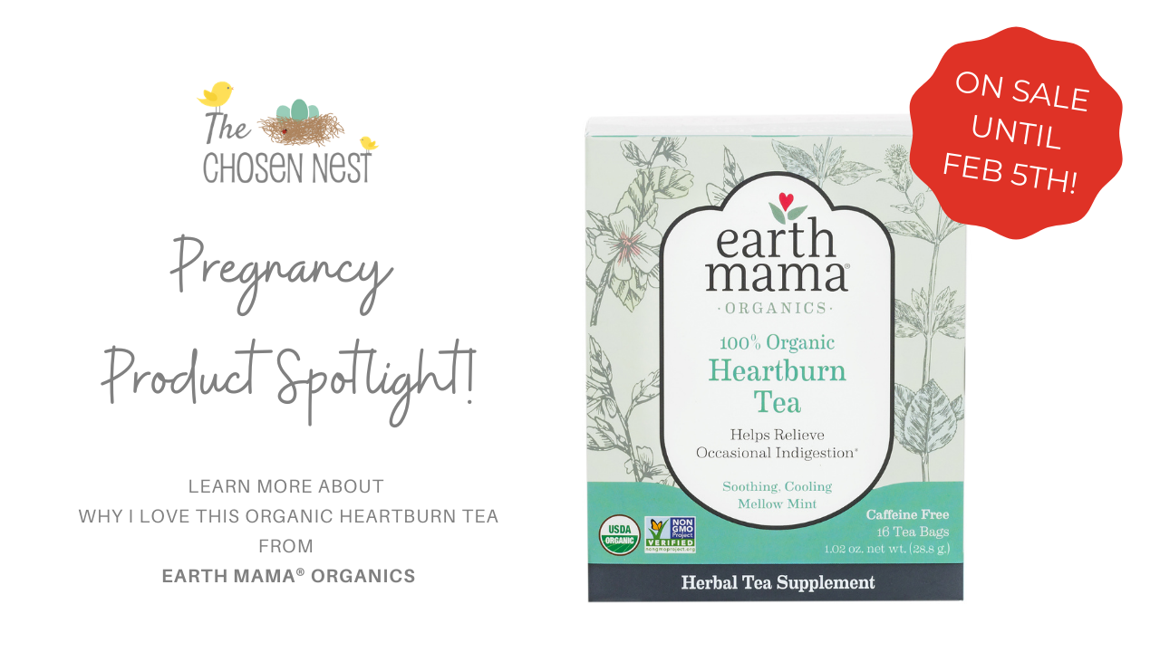 Pregnancy Heartburn Relief Herbal Organic Tea