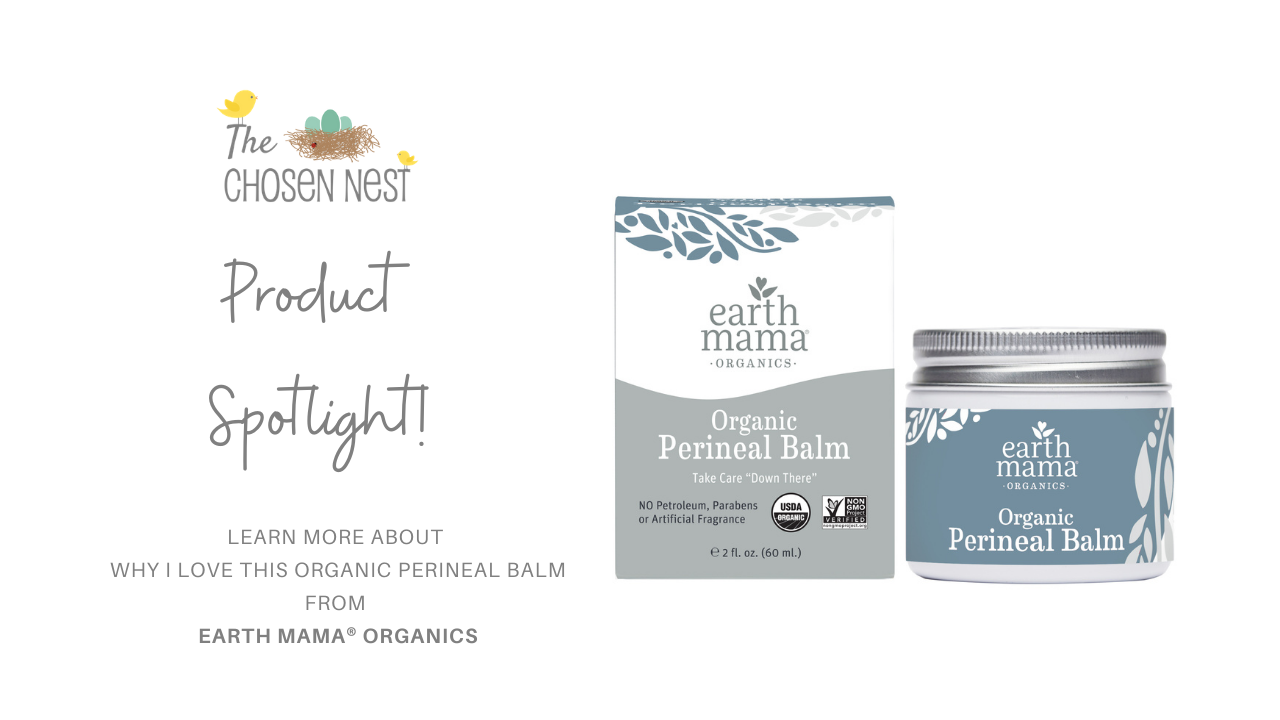 postpartum and pregnancy organic care products